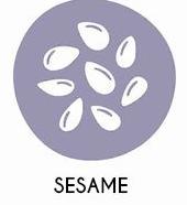 Sésame et produits à base de graines de sésame